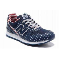 Sale Womens New Balance Stars And Stripes Blue Red WR996FN Sneakers | Original New Balance Outlet