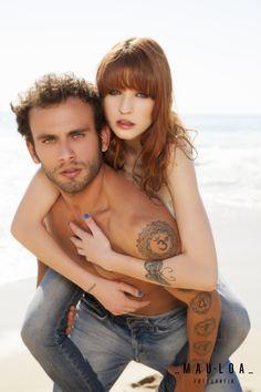 Ensaio fotográfico sensual de casal realizado em Balneário Camboriú