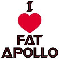 #battlestargalactica #popfunk  http://www.popfunk.com/mens-tees/battlestar-galactica/battlestar-galactica-new-series/bsg-i-heart-fat-apollo.html
