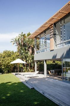 Hint Interior design in collaboration with Lisa Rorich Architects Pool Nets, Family Pool, Beach Umbrella, City Living, Rental Property, Lodges, Night Life, Modern Farmhouse, South Africa