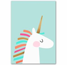 A pretty poster for a real princess room. Unicorn Poster, Pastel Room, Survival Blanket, Princess Room, Disaster Preparedness, My Baby Girl, Kids Bedroom, Pretty, Peepa Pig