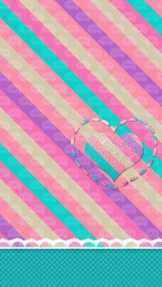 corazon  en rayaas
