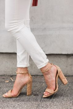 In lieu of a summer night dress, crisp white jeans and a flowing sheer blouse make for the perfect pair. Extra points for a delicate print in my eyes.…