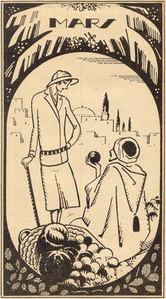 1926 Agenda PLM Voyages du mois de Mars 1926