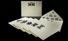 Bernard Maisner Rorschach Note Card