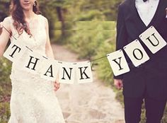 THANK YOU Wedding Banner Wedding Sign Photo Prop Wedding Party Decoration JK-Happy http://www.amazon.com/dp/B00O52R2M8/ref=cm_sw_r_pi_dp_aDO0ub1RKHJ7J