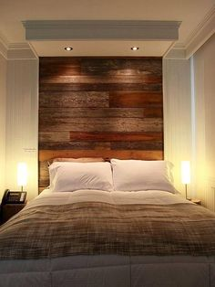 Slaapkamer #Headboard Design