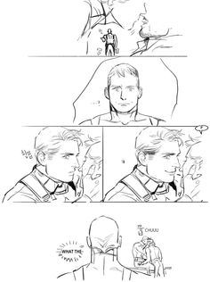 http://askjxc.tumblr.com/post/65070192288/mcu-steve-x-616-tony-end MCU steve x 616 tony