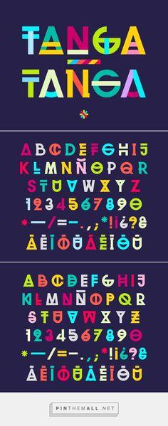 TANGA-TANGA Font on Typography Served - created via http://pinthemall.net