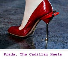 Got to get me a pair of Caddy Shoes LOVE PRADA  www.TheRedCadillacNJ.com