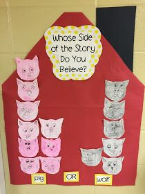 Lee's Kindergarten: A long post about Fairy Tales with LOTS of pictures! Fairy Tale Activities, Literacy Activities, Fairy Tales Unit, Fairy Tale Theme, Fairy Tale Crafts, Traditional Tales, Traditional Stories, Creative Curriculum, Three Little Pigs