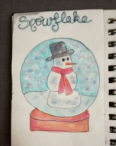 Snowflake drawriot2017 day22of365 Watercolors, Snowflakes, Phone, Painting, Coloring Pages, Water Colors, Telephone, Snow Flakes, Painting Art