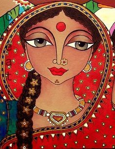 👩🎨She delivers the essence of nature through her With painting, illustration, and photography as her primary art forms, Rachana Saurabh portrays Creation and with riveting aesthetic design and sharp, impressive photography. Madhubani Art, Madhubani Painting, Fabric Painting, Painting & Drawing, Painting Tips, Illustrations, Illustration Art, Indian Folk Art, Indian Art Paintings