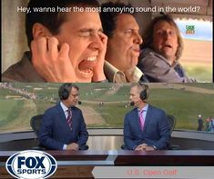What do YOU think about FOX's golf coverage? Discount Golf, Golf Stores, Fox Sports, Golf Humor, Jokes, Lifting Humor, Chistes, Work Funnies, Hilarious Stuff