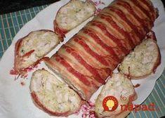 Mäsový srnčí chrbát: Rýchla kuracia pochúťka so smotanou, v slaninovom kabáte! Slovak Recipes, Food 52, Food Design, Meatloaf, Easy Meals, Pork, Food And Drink, Low Carb, Cooking Recipes