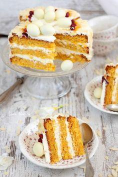 Romanian Desserts, Pavlova, Food Styling, Vanilla Cake, Great Recipes, Sweet Treats, Cheesecake, Deserts, Good Food