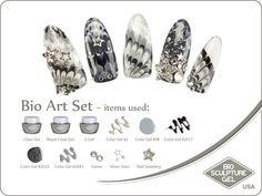 Silver rocks stars art set Bio Sculpture Nails, Sculpture Art, Star Art, Nail Art Galleries, Nail Ideas, Nail Art Designs, Rocks, Stars, Gallery