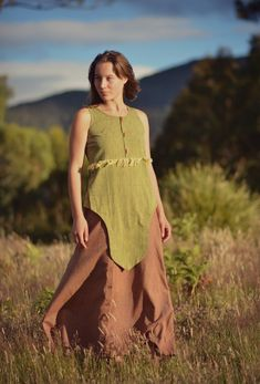 Tribal Outfit, Layered Tops, Hand Spinning, Beautiful Hands, Ethereal, Earthy, Compliments, Hand Weaving, Summer Dresses