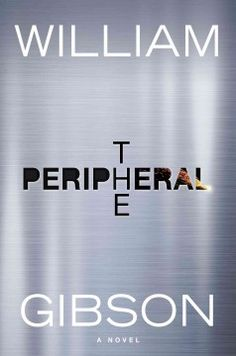 The peripheral by William Gibson.  Click the cover image to check out or request the science fiction and fantasy kindle.