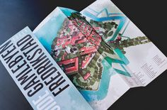 Tourist map - Fredrikstad Fortress Town on Behance