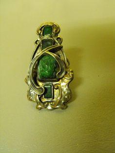 Vega Maddux Rare Malachite Ring