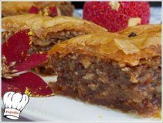 ΜΠΑΚΛΑΒΑΣ ΦΑΝΤΑΣΤΙΚΟΣ!!! - Νόστιμες συνταγές της Γωγώς! Greek Sweets, Greek Desserts, Greek Recipes, Cheesecake Brownies, Meatloaf, Christmas Time, Dessert Recipes, Food And Drink, Pie
