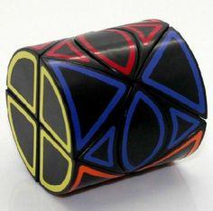 Amazon.com: SmaZ Dino Cylinder Cube Puzzle Black: Toys & Games