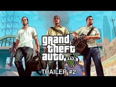 Grand Theft Auto V: Official Trailer #2 - Back in San Andreas, eh? Yeah, I'm there. Looks like it's got more of the sense of fun of San Andreas, too, that IV was kind of missing.