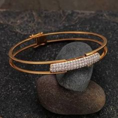 Image result for kada bracelet diamond