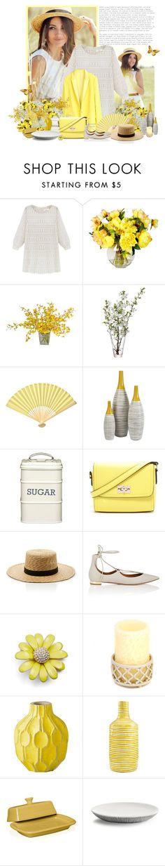 """""""I wish...."""" by capuccinogirl77 ❤ liked on Polyvore featuring Zadig & Voltaire, LSA International, Cultural Intrigue, Dot & Bo, Kitchen Craft, Forever 21, Janessa Leone, Aquazzura, Kate Spade and West Elm"""