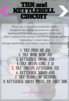 TRX and KETTLEBELL CIRCUIT