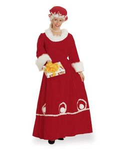 Mrs Claus Deluxe Adult Women's Costume