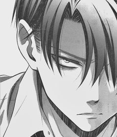Type: Fan Art, Anime(s)/Show(s): Attack on Titan, Character(s): Levi Comment: The face of complete hostility.
