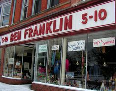Ben Franklin is a locally and owned operated store in downtown Oberlin, with basically anything you could ever want.