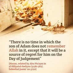 #Remembering #Allah