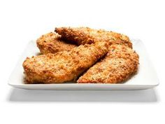 Parmesan baked chicken! I actually tried this tonight and it was really good. Pinning so I don't lose the recipe.