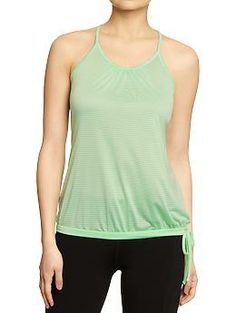 Womens Old Navy Active Mesh-Bubble Tanks Have two of these.. love them!