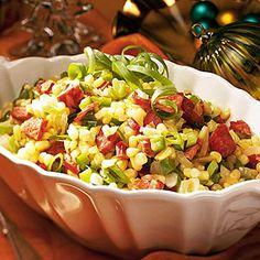 83 Spectacular Thanksgiving Sides | Cajun Corn Maque Choux | SouthernLiving.com