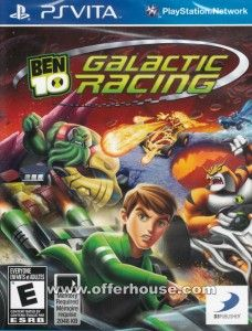 Download BEN 10: GALACTIC RACING Ps Vita Free  The first kart racing game set in the popular BEN 10 universe and based on the hit Cartoon Network TV series features Ben and his alien friends competing in an over-the-top, galactic grand prix race through a variety of tracks on five different planets!   psvitagamesfull.com