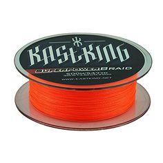 KastKing SuperPower Braided Fishing Line (500M/547-Yard), Vermillion Red 12-80LB - http://bassfishingmaniacs.com/?product=kastking-superpower-braided-fishing-line-500m547-yard-vermillion-red-12-80lb