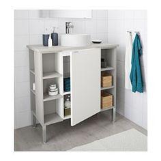 IKEA - LILLÅNGEN/VISKAN / GUTVIKEN SinK cabinet/1 door/2 end units ...