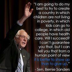 -Sen. Bernie Sanders #Bernie2016