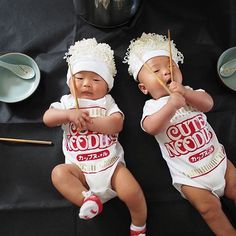 Pin for Later 27 Food-Inspired Costume Ideas For Kids and Babies Cup Noodles  sc 1 st  Pinterest & Baby Halloween Costume Noodle Baby Costume Funny Gift for Baby ...