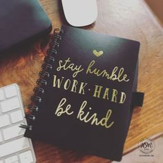 "Jot down important notes and personal thoughts in the pages of this handy notebook with this motivational foil quote. -Spiral notebook includes 100 ruled pages -Elastic pen loop -Size: 7"" H x 5.688"" W"
