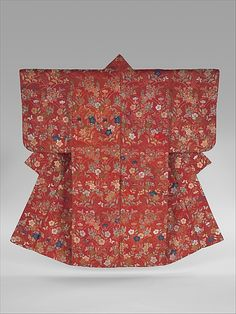 Noh Robe (Karaori) with Pattern of Autumn Grasses Period: Edo period (1615–1868)