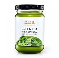 Osulloc Green Tea Milk Spread Jam 200g Matcha Cream From Jeju Island