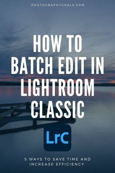 Adobe Lightroom Classic is an excellent tool for managing and editing a large number of photos quickly and efficiently. But if you don't know how to use the tools available to you in Lightroom, then you may be wasting valuable time. Here are all the ways that you can batch edit your images and improve and speed up your photo editing.