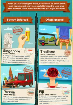 Infographic: 18 Strange Laws From Around The World