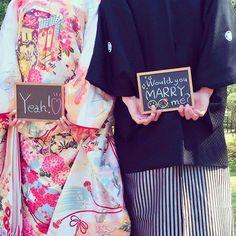 無事前撮りできた♡  カメラマンさん全てのグッズを見事に使ってくれました♡  #前撮り#和装#和装前撮り#前撮りグッズ#ハンドメイド#黒板#ウェディング#wedding#プレ花嫁#marryxoxo