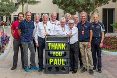 Remembering Paul Rosche, a photo to honour the memory of a true racing legend.